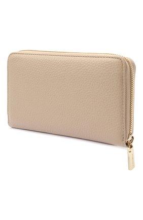 Женские кожаный кошелек COCCINELLE розового цвета, арт. E2 HW5 11 32 01   Фото 2