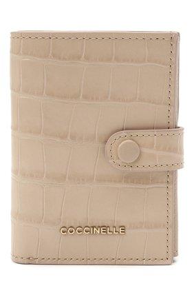 Женские кожаный кошелек COCCINELLE розового цвета, арт. E2 HR2 11 B1 01   Фото 1