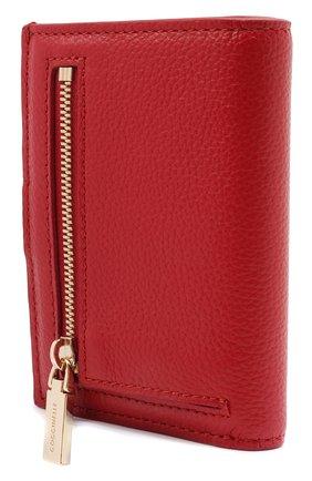 Женские кожаный кошелек COCCINELLE красного цвета, арт. E2 HR0 11 B1 01 | Фото 2