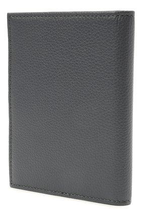 Женские кожаная обложка для паспорта COCCINELLE серого цвета, арт. E2 HL0 12 91 01   Фото 2