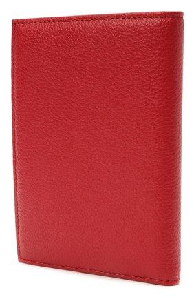 Женские кожаная обложка для паспорта COCCINELLE красного цвета, арт. E2 HL0 12 91 01 | Фото 2