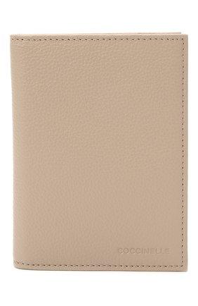 Женские кожаная обложка для паспорта COCCINELLE розового цвета, арт. E2 HL0 12 91 01   Фото 1