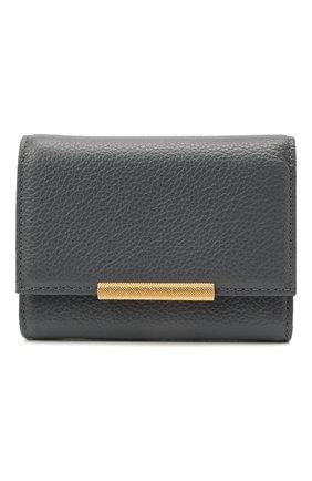 Женские кожаный кошелек COCCINELLE серого цвета, арт. E2 HI5 11 10 01   Фото 1