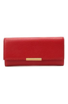 Женские кожаный кошелек COCCINELLE красного цвета, арт. E2 HI5 11 03 01 | Фото 1