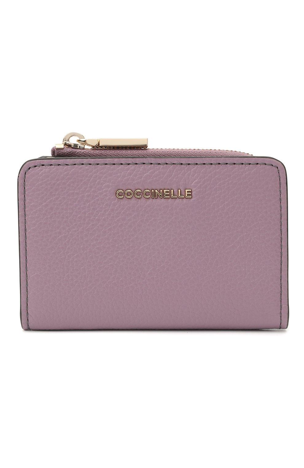 Женские кожаный кошелек COCCINELLE разноцветного цвета, арт. E2 H10 17 01 01 | Фото 1