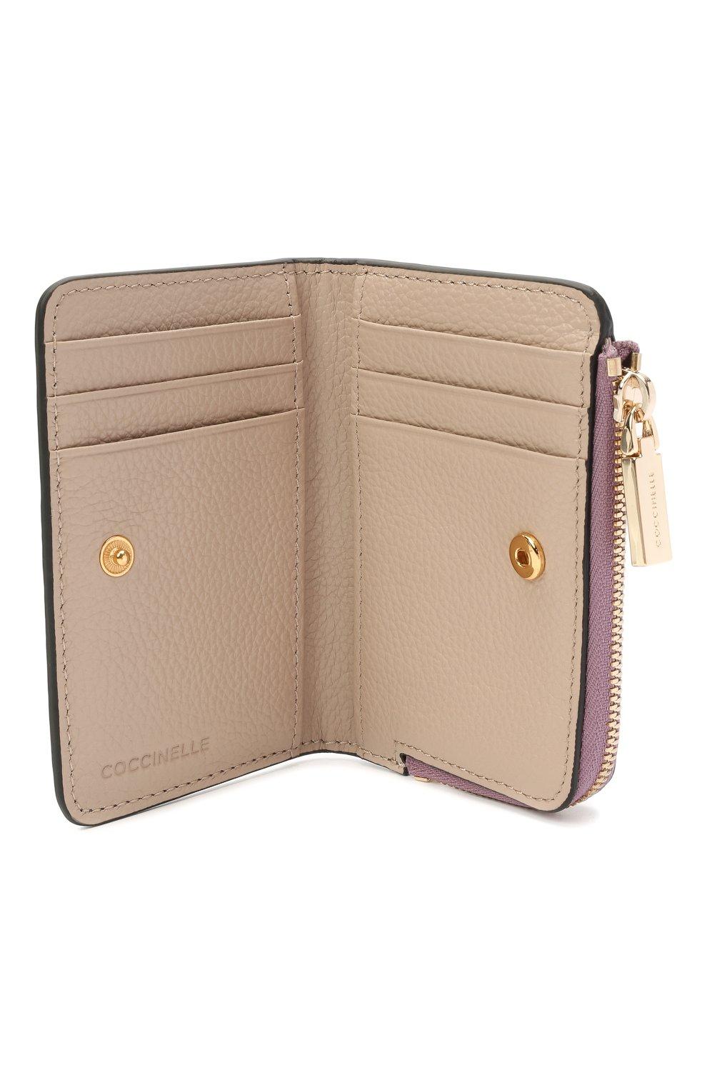 Женские кожаный кошелек COCCINELLE разноцветного цвета, арт. E2 H10 17 01 01 | Фото 3