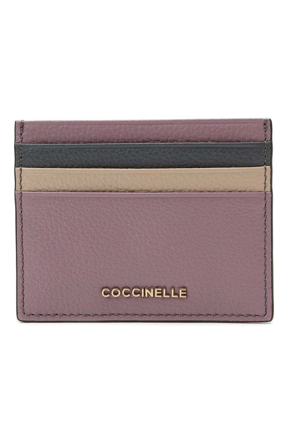 Женский кожаный футляр для кредитных карт COCCINELLE разноцветного цвета, арт. E2 H10 12 95 01 | Фото 1