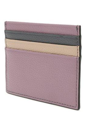 Женский кожаный футляр для кредитных карт COCCINELLE разноцветного цвета, арт. E2 H10 12 95 01 | Фото 2