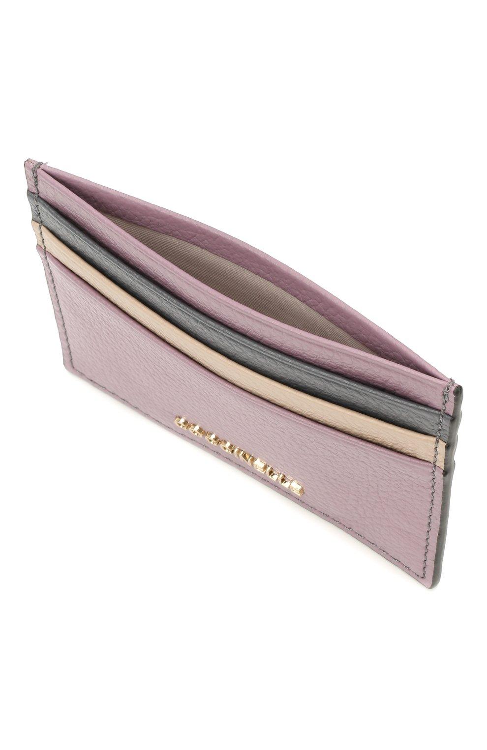 Женский кожаный футляр для кредитных карт COCCINELLE разноцветного цвета, арт. E2 H10 12 95 01 | Фото 3