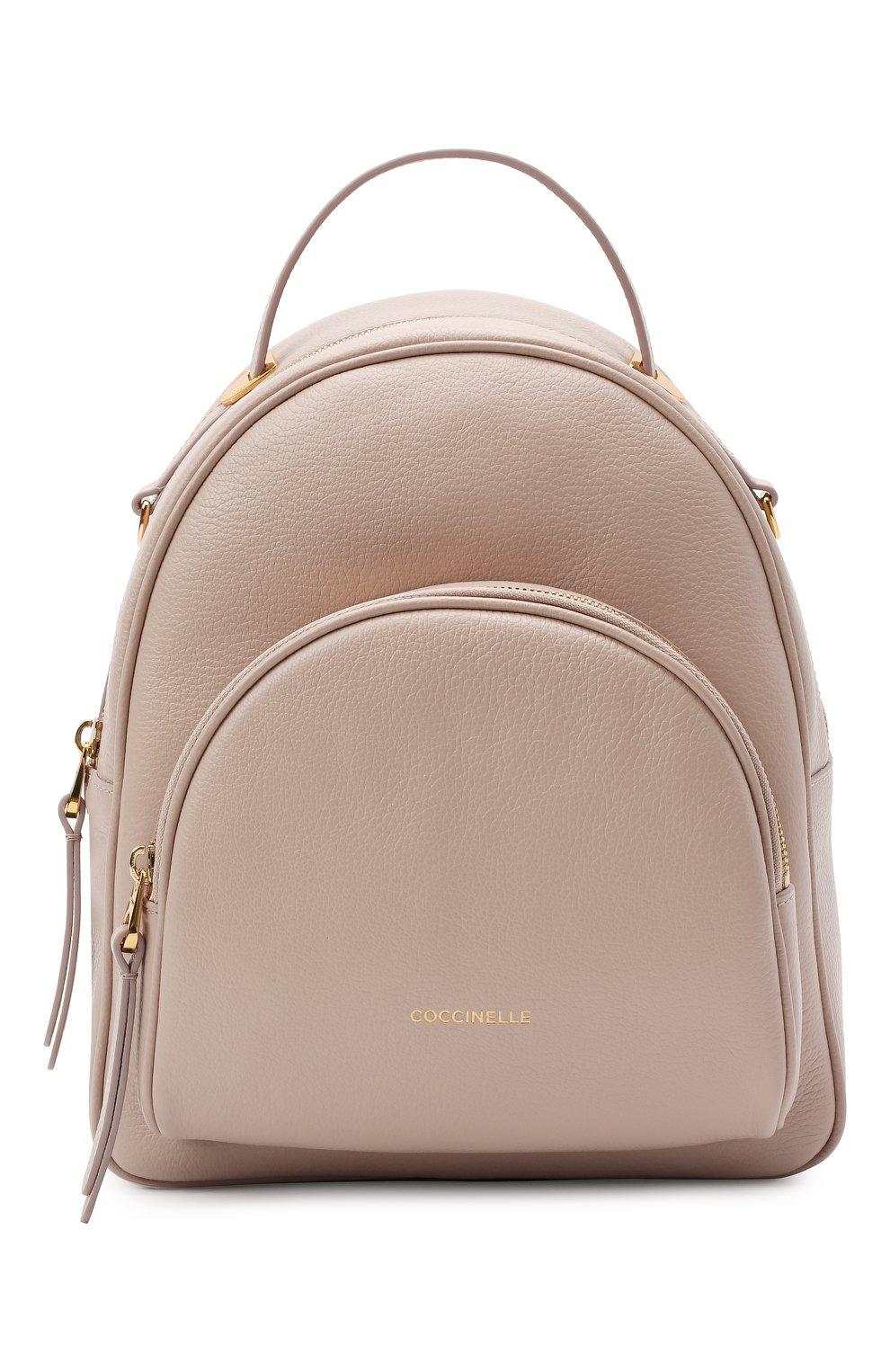 Женский рюкзак lea COCCINELLE бежевого цвета, арт. E1 H60 14 01 01 | Фото 1