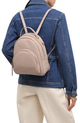 Женский рюкзак lea COCCINELLE бежевого цвета, арт. E1 H60 14 01 01 | Фото 2