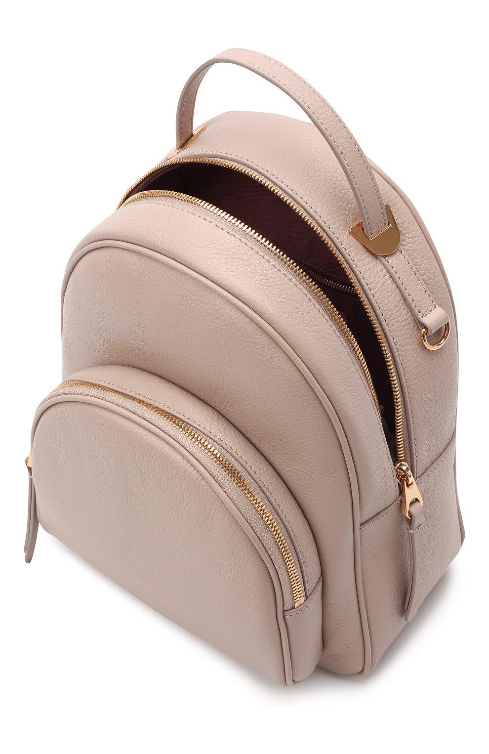 Женский рюкзак lea COCCINELLE бежевого цвета, арт. E1 H60 14 01 01 | Фото 4