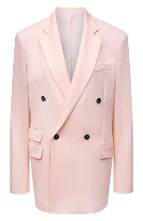 Женский шерстяной жакет STELLA MCCARTNEY светло-розового цвета, арт. 601835/SR001 | Фото 1