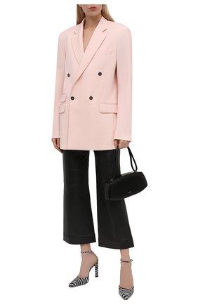 Женский шерстяной жакет STELLA MCCARTNEY светло-розового цвета, арт. 601835/SR001 | Фото 2