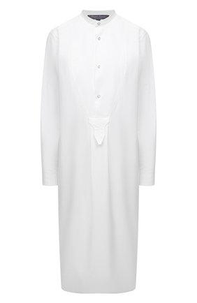 Женское хлопковое платье RALPH LAUREN белого цвета, арт. 290842929 | Фото 1