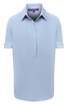 Женская блузка RALPH LAUREN синего цвета, арт. 290842942 | Фото 1
