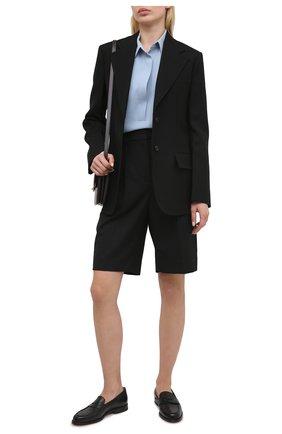 Женская блузка RALPH LAUREN синего цвета, арт. 290842942 | Фото 2