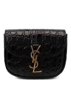 Женская поясная сумка SAINT LAURENT черного цвета, арт. 634922/1ZQ0W | Фото 1