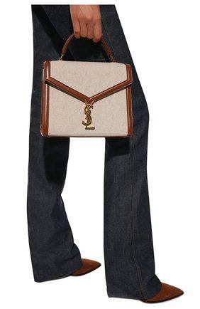 Женская сумка cassandra SAINT LAURENT светло-коричневого цвета, арт. 623931/HZD2J | Фото 2