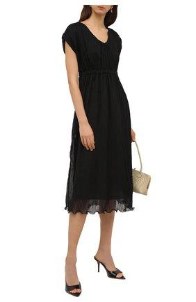 Женское платье GIORGIO ARMANI черного цвета, арт. 1SHVA07V/T02BQ | Фото 2