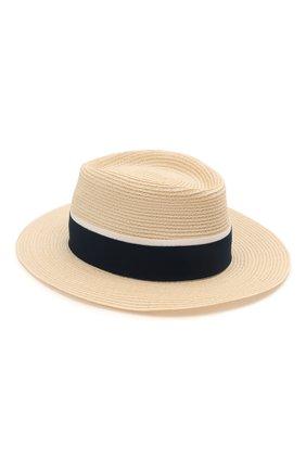 Женская шляпа andre MAISON MICHEL светло-бежевого цвета, арт. 1003038002/ANDRE | Фото 1