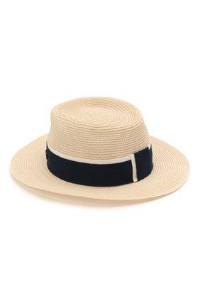 Женская шляпа andre MAISON MICHEL светло-бежевого цвета, арт. 1003038002/ANDRE | Фото 2