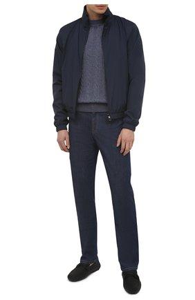 Мужские кожаные мокасины SALVATORE FERRAGAMO черного цвета, арт. Z-07133303E | Фото 2
