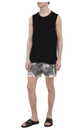 Мужские плавки-шорты THOM KROM серого цвета, арт. SWIM 11 B   Фото 2