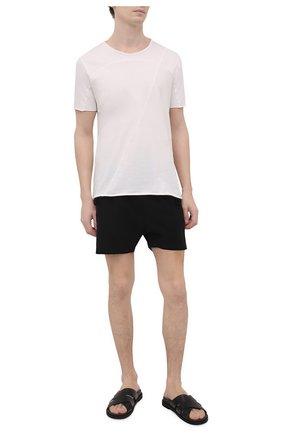 Мужские плавки-шорты THOM KROM черного цвета, арт. SWIM 11   Фото 2