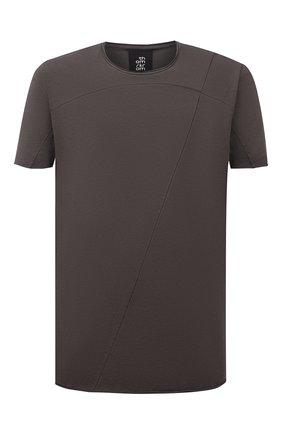 Мужская хлопковая футболка THOM KROM серого цвета, арт. M TS 301   Фото 1