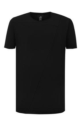 Мужская хлопковая футболка THOM KROM черного цвета, арт. M TS 301   Фото 1