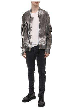 Мужские джинсы THOM KROM серого цвета, арт. M T 56   Фото 2