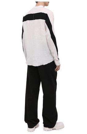 Мужская льняная рубашка THOM KROM черно-белого цвета, арт. M H 115 | Фото 2