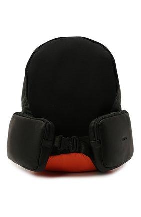 Мужской текстильный рюкзак VIC MATIE черного цвета, арт. 1Z0574T.999TZGT617   Фото 1 (Материал: Текстиль)