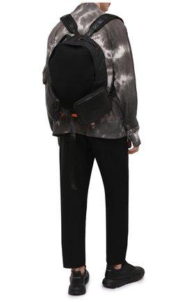 Мужской текстильный рюкзак VIC MATIE черного цвета, арт. 1Z0574T.999TZGT617   Фото 2 (Материал: Текстиль)