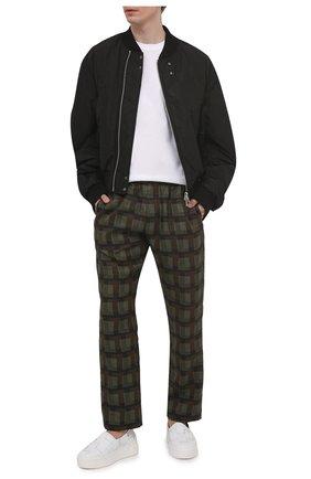 Мужские кожаные слипоны VIC MATIE белого цвета, арт. 1Z5888U.V02X080102 | Фото 2 (Материал внутренний: Натуральная кожа; Стили: Кэжуэл)