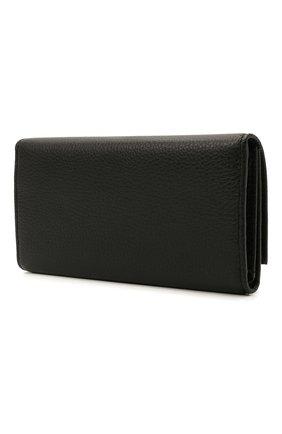 Мужской кожаное портмоне COCCINELLE черного цвета, арт. E2 HD0 11 46 01 | Фото 2