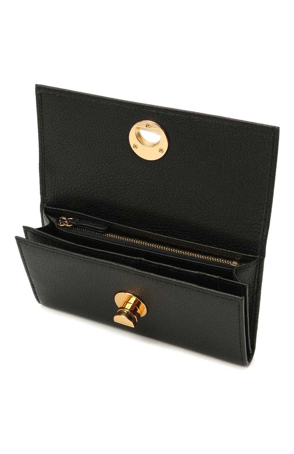 Мужской кожаное портмоне COCCINELLE черного цвета, арт. E2 HD0 11 46 01 | Фото 3