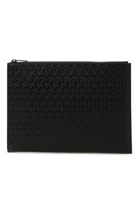 Мужской кожаный футляр для документов SAINT LAURENT черного цвета, арт. 647154/18G0Z | Фото 1