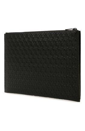 Мужской кожаный футляр для документов SAINT LAURENT черного цвета, арт. 647154/18G0Z | Фото 2