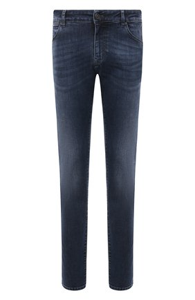 Мужские джинсы PT TORINO темно-синего цвета, арт. 211-C5 VJ05Z40MIN/0A30 | Фото 1
