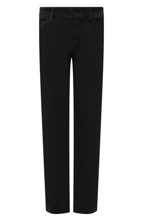 Мужские хлопковые брюки JAMES PERSE темно-серого цвета, арт. MRX1260 | Фото 1 (Материал внешний: Хлопок; Длина (брюки, джинсы): Стандартные; Случай: Повседневный; Стили: Кэжуэл)