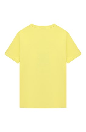 Детская хлопковая футболка MARC JACOBS (THE) желтого цвета, арт. W25464 | Фото 2