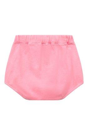 Детские хлопковые шорты DOUUOD розового цвета, арт. 21E/U/JR/FC23/2209/10A-14A | Фото 2
