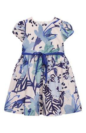 Детское хлопковое платье IL GUFO разноцветного цвета, арт. P21VM614C4068/2A-4A   Фото 1