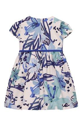 Детское хлопковое платье IL GUFO разноцветного цвета, арт. P21VM614C4068/2A-4A   Фото 2