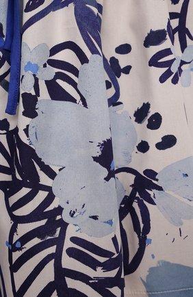 Детское хлопковое платье IL GUFO разноцветного цвета, арт. P21VM614C4068/2A-4A   Фото 3