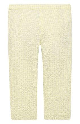 Детские хлопковые брюки IL GUFO желтого цвета, арт. P21PR004C3125/2A-4A | Фото 2