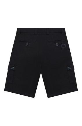 Детские джинсовые шорты DOLCE & GABBANA темно-синего цвета, арт. L42Q73/G7WSD/2-6   Фото 2