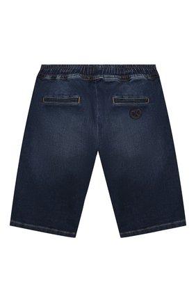 Детские джинсовые шорты DOLCE & GABBANA темно-синего цвета, арт. L42Q47/LD952/2-6 | Фото 2